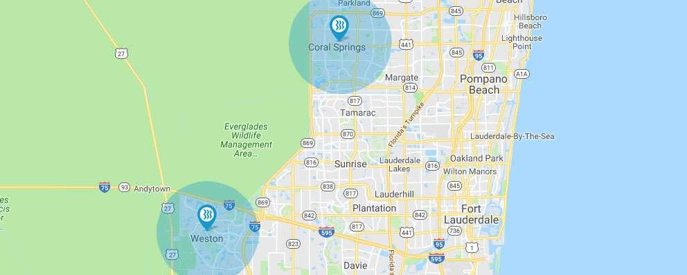 Blue Stream Coverage Map